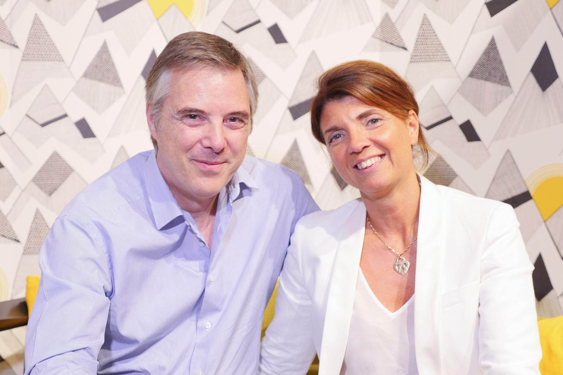 Olivier Lapidus et Catherine Seiler