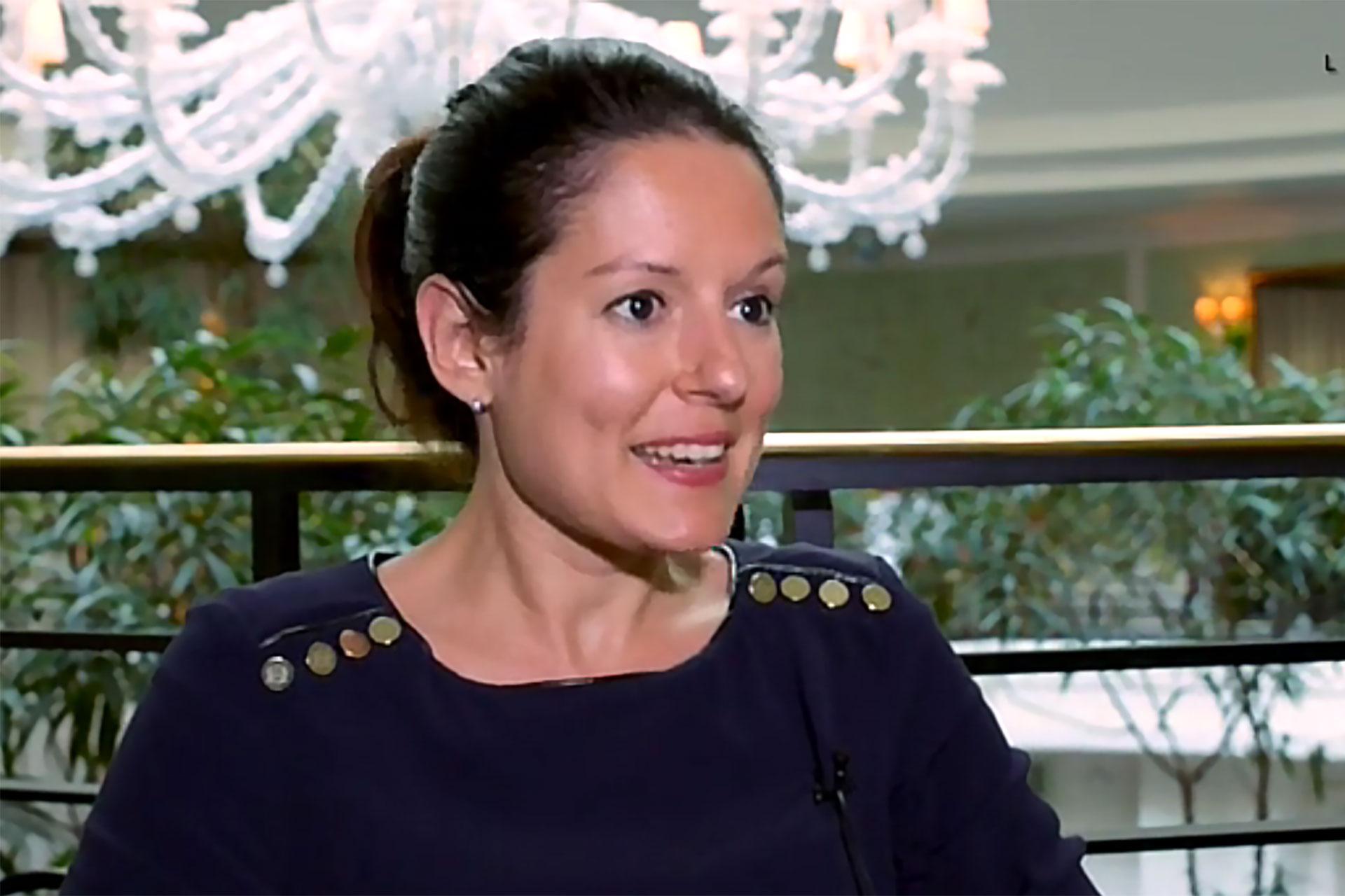 Mélanie Hubbert. Directrice Communication Shangri-La Hotel